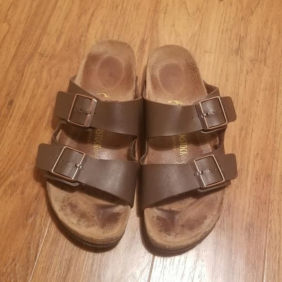 c99a7adcaf9 Birkenstock Shoes - Birkenstocks Sandals Womens Size 9 Brown